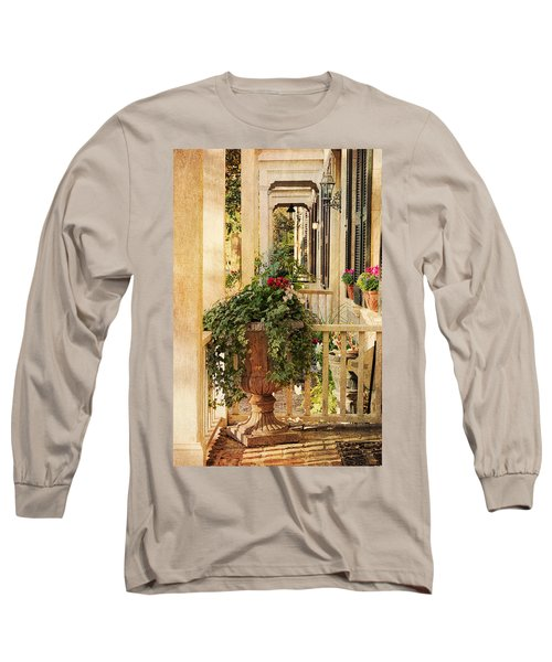 Savannah Porch Long Sleeve T-Shirt