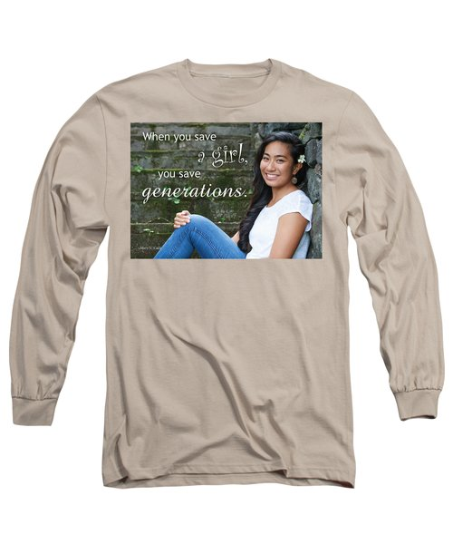 Save A Girl Long Sleeve T-Shirt