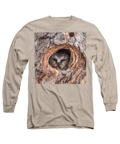 Saw-whet Secret Long Sleeve T-Shirt