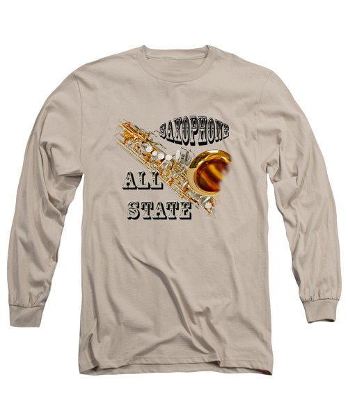 Saxophone All State Long Sleeve T-Shirt