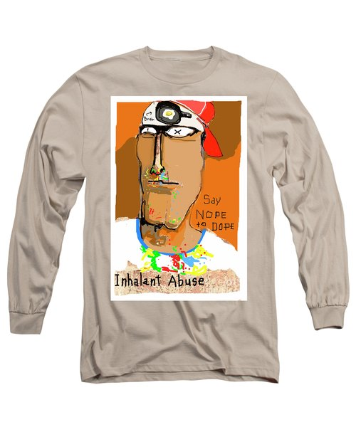 Long Sleeve T-Shirt featuring the photograph Say Nope To Dope by Joe Jake Pratt