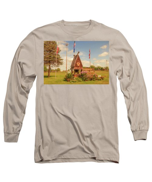 Scandy Memorial Park Long Sleeve T-Shirt by Trey Foerster