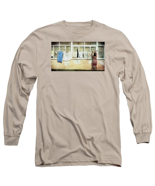Scene Of Daily Life Long Sleeve T-Shirt