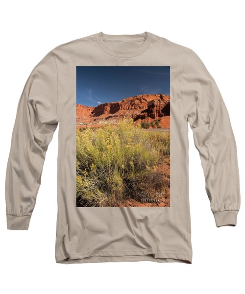 Scenery Capital Reef National Park Long Sleeve T-Shirt
