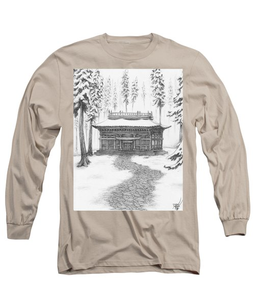 School In The Snow Long Sleeve T-Shirt