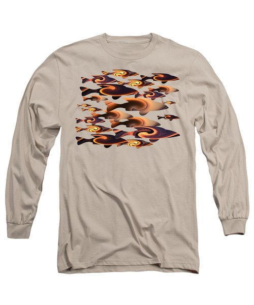 School Of Fish 2 Long Sleeve T-Shirt