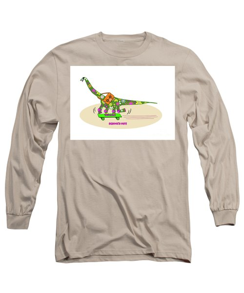 Schools Out For Dinosaurs Long Sleeve T-Shirt