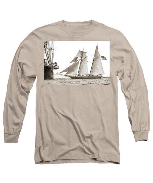 Schooner Lynx Full Sail Long Sleeve T-Shirt