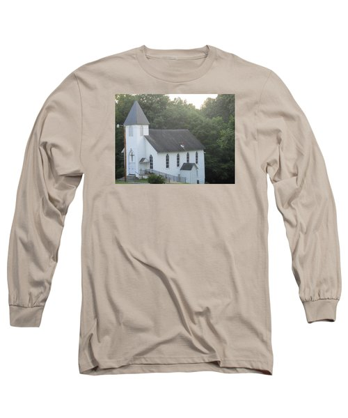 Schuyler Baptist Church Long Sleeve T-Shirt by Charlotte Gray