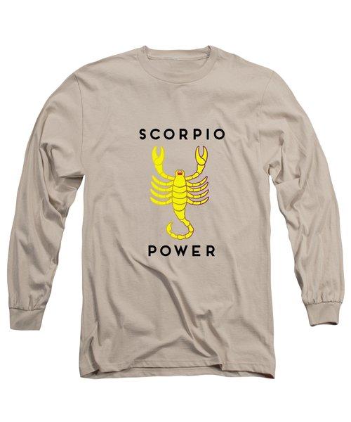 Scorpio Power Long Sleeve T-Shirt