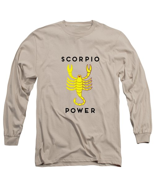 Scorpio Power Long Sleeve T-Shirt