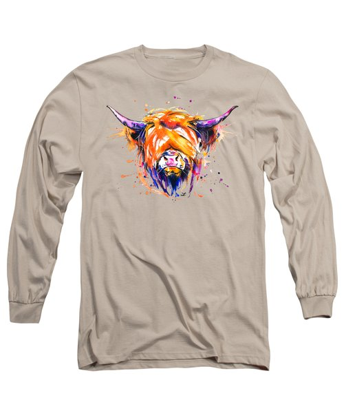 Scottish Highland Cow Long Sleeve T-Shirt