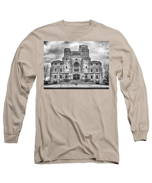 Long Sleeve T-Shirt featuring the photograph Scottish Rite Cathedral by Howard Salmon