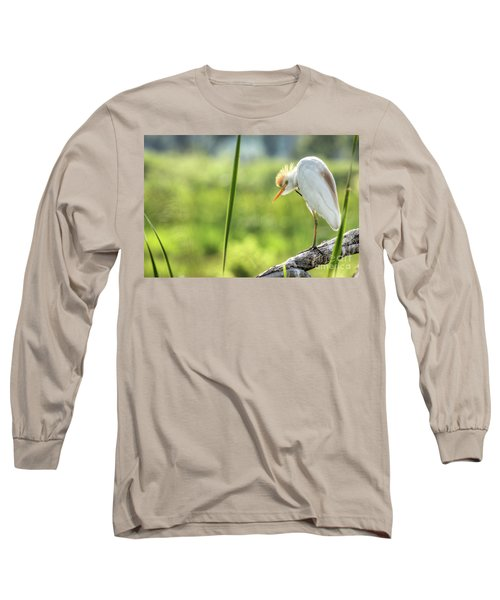 Scratching  Long Sleeve T-Shirt