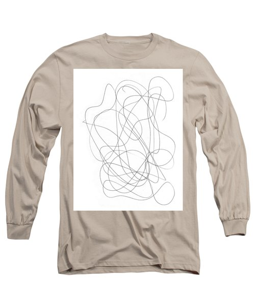 Scribble For Grin And Bear It Long Sleeve T-Shirt by Ismael Cavazos