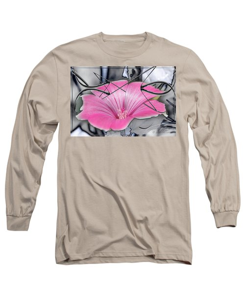 Scribble Petals..... Long Sleeve T-Shirt