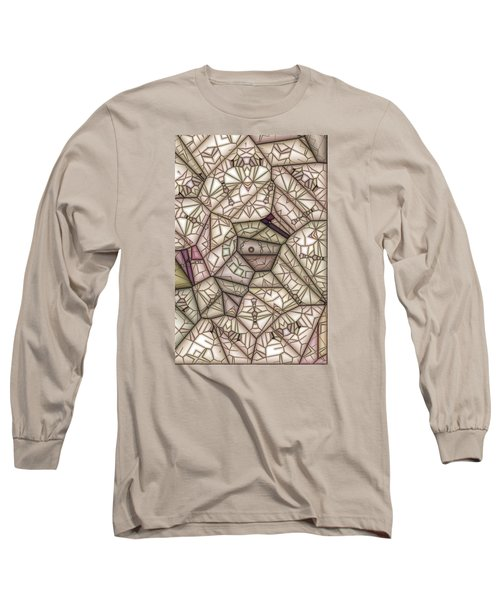 Scribed Long Sleeve T-Shirt by Ron Bissett