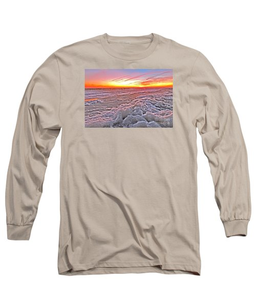Sea Foam Sunset Long Sleeve T-Shirt