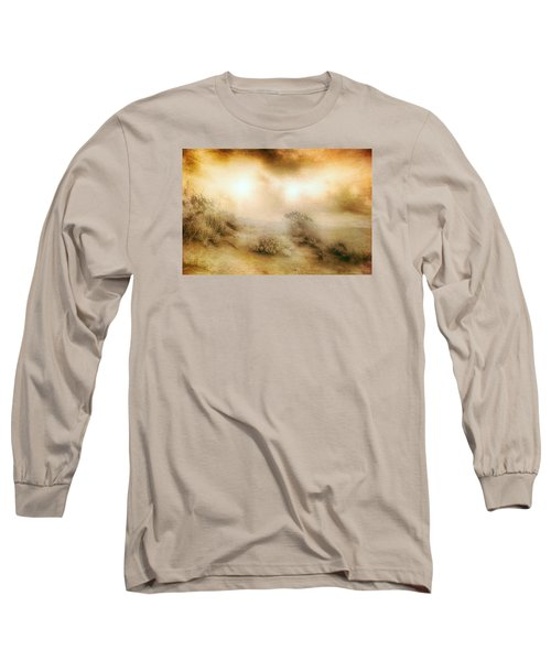 Sea Oats In Paradise Long Sleeve T-Shirt by Dan Carmichael