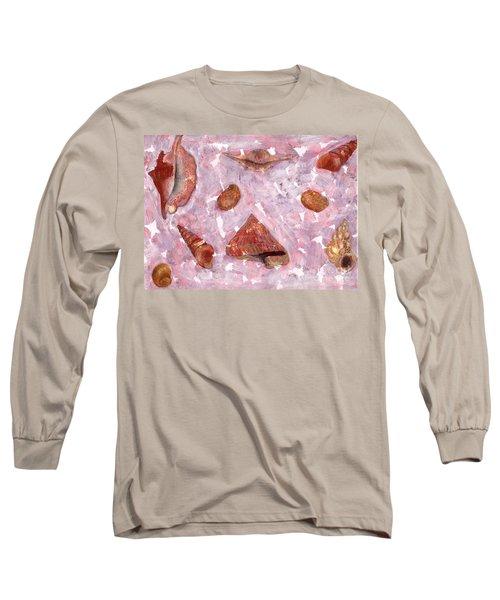 Sea Shells Long Sleeve T-Shirt by Annemeet Hasidi- van der Leij