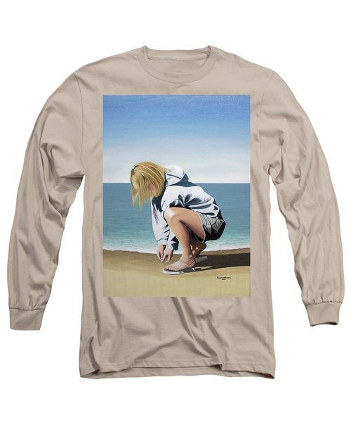 Sea Shells On The Beach Long Sleeve T-Shirt