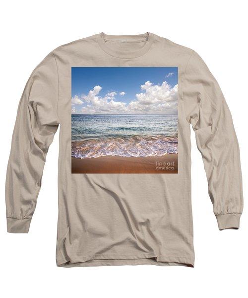 Seascape Long Sleeve T-Shirt by Carlos Caetano