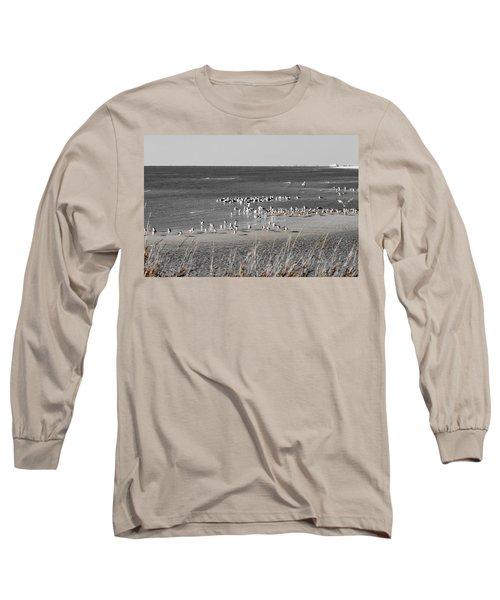 Seascape Gulf Coast, Ms F10n Long Sleeve T-Shirt