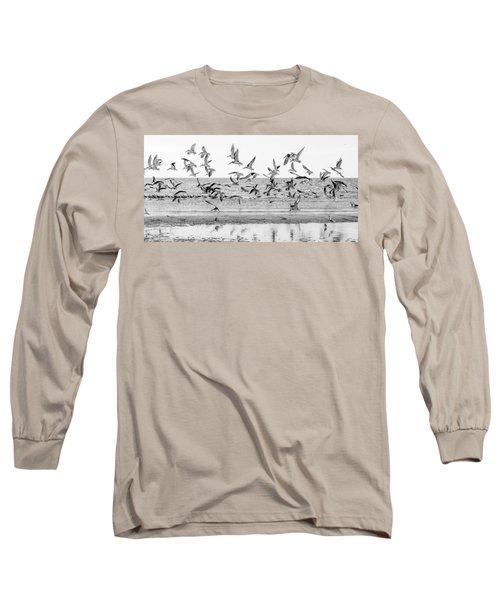 Seascape Gulf Coast, Ms F30k Long Sleeve T-Shirt