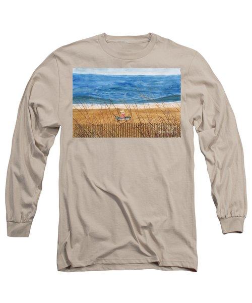 Seaside In Massachusetts Long Sleeve T-Shirt