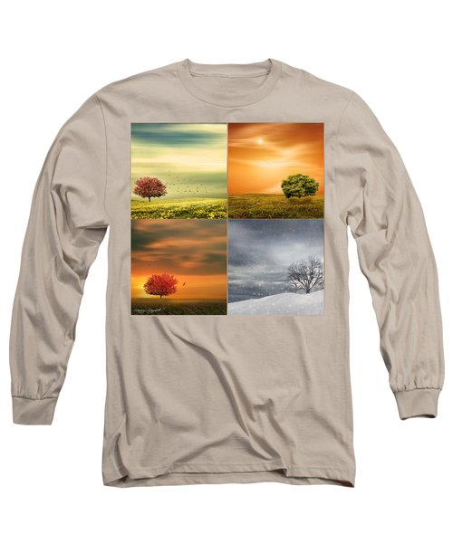 Seasons' Delight Long Sleeve T-Shirt by Lourry Legarde