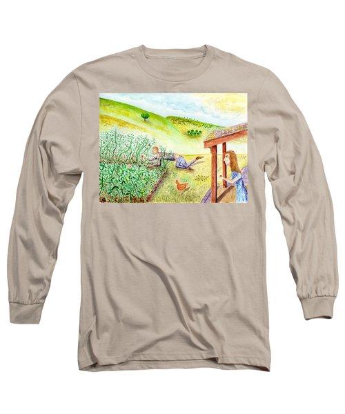 Seasons First Tomatoes Long Sleeve T-Shirt