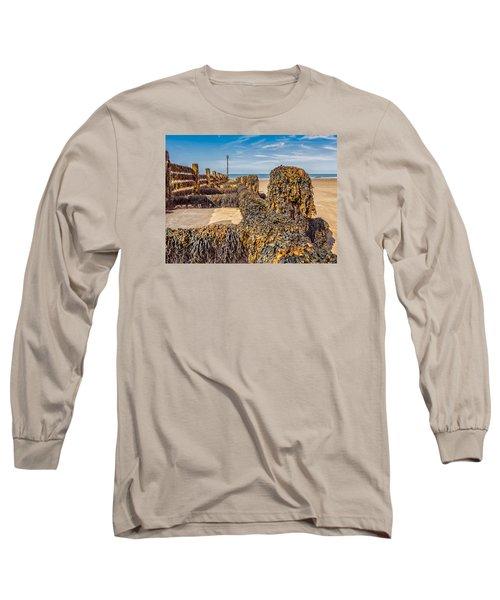 Seaweed Covered Long Sleeve T-Shirt