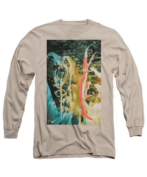Long Sleeve T-Shirt featuring the photograph Seaweed by William Wyckoff