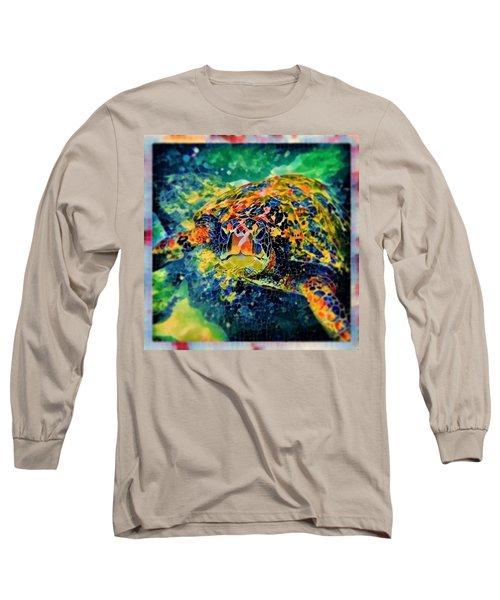 Sebastian The Turtle Long Sleeve T-Shirt
