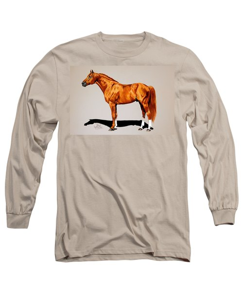Secretariat - Triple Crown Winner By 31 Lengths Long Sleeve T-Shirt