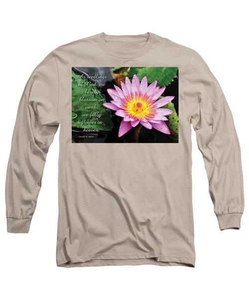 Seedlings Of God Long Sleeve T-Shirt