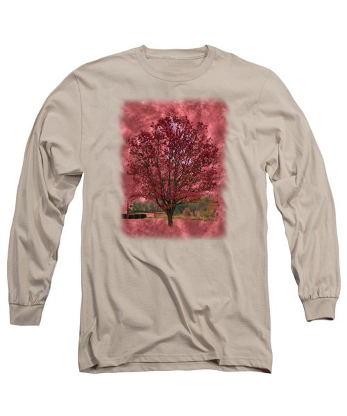 Seeing Red 2 Long Sleeve T-Shirt by John M Bailey