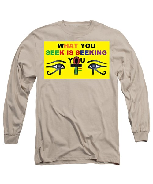 Seeking Long Sleeve T-Shirt