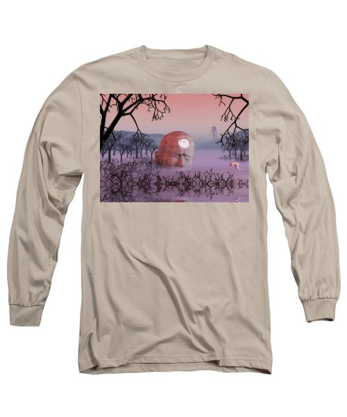 Seeking The Dying Light Of Wisdom Long Sleeve T-Shirt