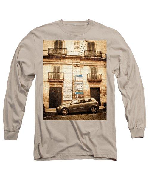 Segnali Stradali Long Sleeve T-Shirt