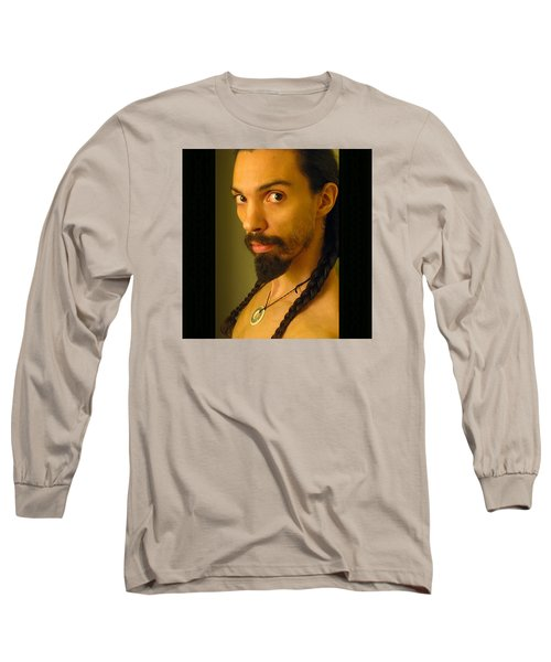Self Portrait The Native Within Me Long Sleeve T-Shirt