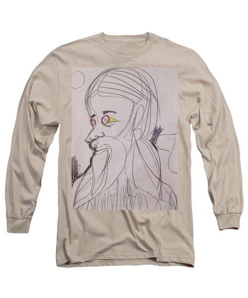 Self-portrait Long Sleeve T-Shirt