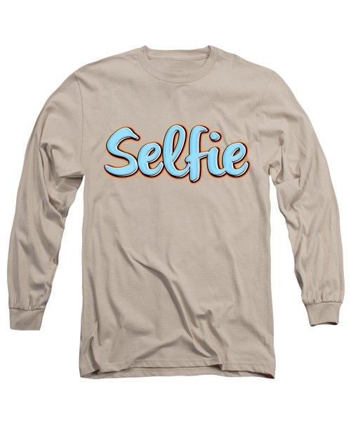 Selfie Tee Long Sleeve T-Shirt