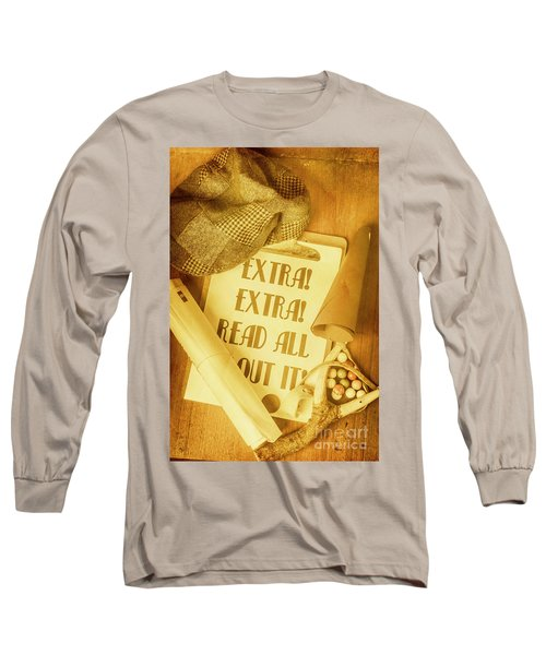 Selling The News Long Sleeve T-Shirt