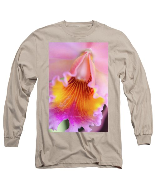 Sensual Floral Long Sleeve T-Shirt