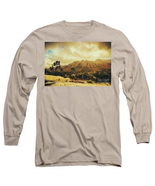 Sentinel Range Tasmania Long Sleeve T-Shirt