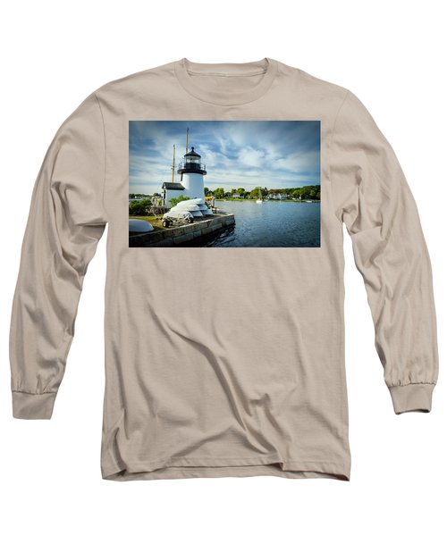 Sentinels Of The Sea Lighthouse Long Sleeve T-Shirt