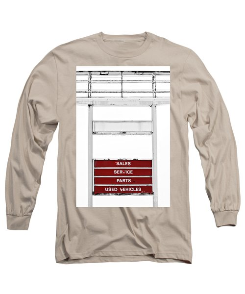 Long Sleeve T-Shirt featuring the photograph Services Rendered by Stephen Mitchell
