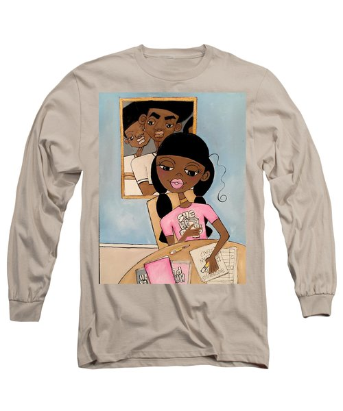 She Has Plans Long Sleeve T-Shirt