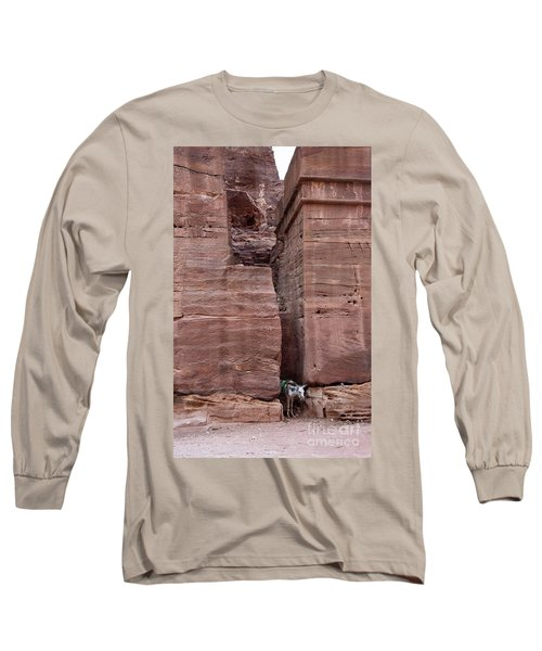 Long Sleeve T-Shirt featuring the photograph Shade Is Good by Mae Wertz